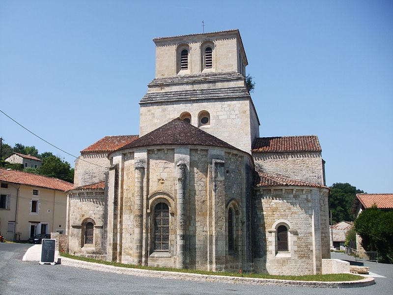 Église Saint-Nicolas de Cellefrouin (Classé)