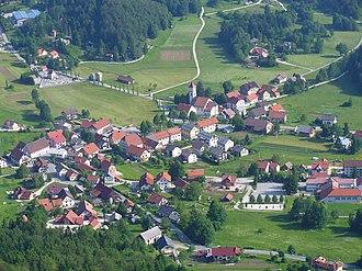 Črni Vrh, Idrija - Image: Črni Vrh nad Idrijo 1