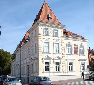 Łańcut Castle - Historical casino which once was part of the estate