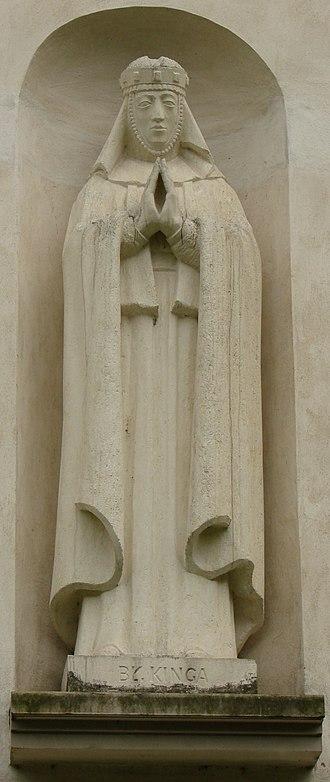 Kinga of Poland - Image: Święta Kinga (sculpture)