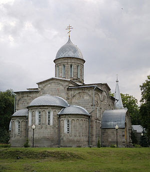 Alagir - The Cathedral of the Assumption (1851) in Alagir