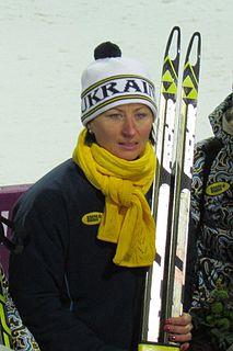 Vita Semerenko Ukrainian biathlete