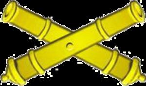 11th Artillery Brigade (Ukraine) - Image: Емблема ракетних військ та артилерії (2007)