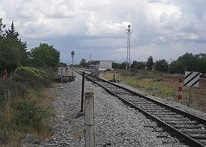 Kistanje - Image: Жељезничка станица Кистање