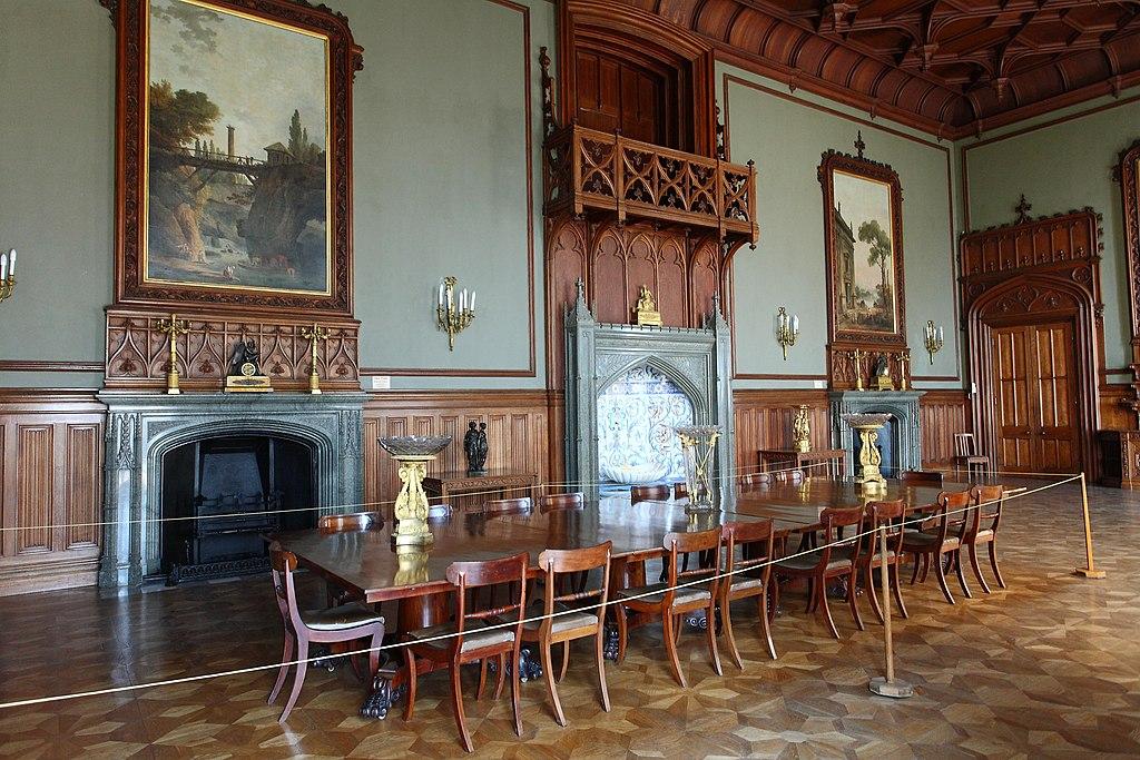 воронцовский дворец фото помещения для прислуги романа происходит через