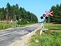 Переезд, жд линия Даугавпилс - Шауляй - panoramio.jpg