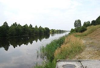 Dnieper–Bug Canal - Image: Селішча. Дняпроўска Бугскі канал. Водападзел (15)