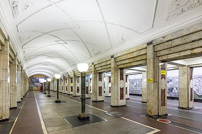 How to get to Метро «Семёновская» with public transit - About the place