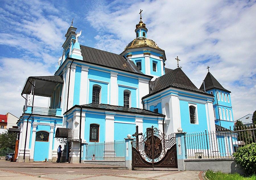 Church of the Nativity of the Theotokos, Sambir
