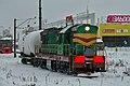 ЧМЭ3-1873, Россия, Нижегородская область, станция Варя (Trainpix 120723).jpg