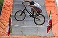 دوچرخه سواری بی ام ایکس در پارک ملت دزفول- عکاس-مصطفی معراجی Freestyle BMX is bicycle stunt, Iran-Dezfol 06.jpg