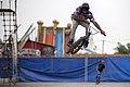 دوچرخه سواری بی ام ایکس در پارک ملت دزفول- عکاس-مصطفی معراجی Freestyle BMX is bicycle stunt, Iran-Dezfol 17.jpg