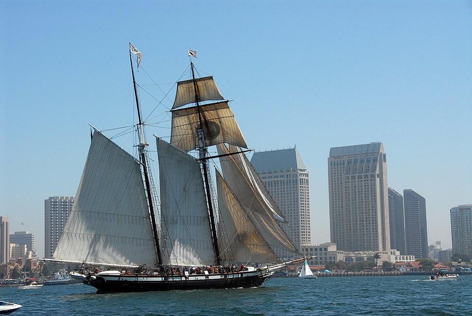 'Californian' at San Diego Bay