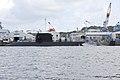 充電中の「おやしお型」潜水艦.jpg