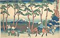 冨嶽三十六景 東海道保土ケ谷-Hodogaya on the Tōkaidō (Tōkaidō Hodogaya), from the series Thirty-six Views of Mount Fuji (Fugaku sanjūrokkei) MET DP141068.jpg