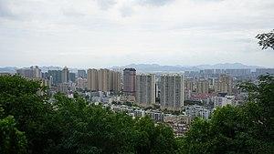 Xiaoshan District - Downtown Xiaoshan, as seen from Beigan Hill