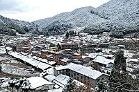 小雪之后的古田泮洋村 - panoramio.jpg