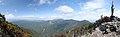 釈迦ヶ岳より弥山、八経ヶ岳方向を望む - panoramio.jpg