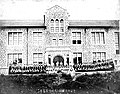 중앙대학교 1940년, 임영신 박사 귀국환영 기념사진.jpg