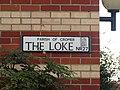 -2019-10-30 Street name sign, The Loke, Cromer.JPG