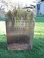 -2019-11-30 Headstone of Clipperton family, died 1838, 1819, and 1787, Trimingham churchyard.JPG