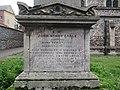 -2019-12-03 John Henry Earle monument, Cromer Parish churchyard, Cromer Norfolk (2).JPG