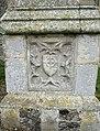 -2020-06-12 Weathered calved stone panel, All Saints, Walcott.JPG