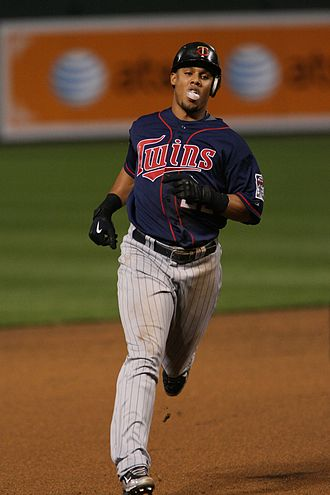 Carlos Gómez - Gómez playing for the Minnesota Twins in 2009