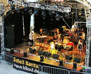 Theatron-Festival - Soleil Bantu in July 2012