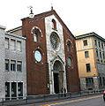0662 - Milano - Facciata chiesa valdese - Foto Giovanni Dall'Orto 5-May-2007.jpg
