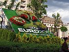 07063 EURO Football 2012 public flower emblem in Lviv. 2011.jpg