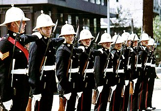 History of the Royal Marines - Royal Marines in 1972