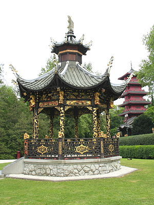 Museums of the Far East - Image: 0 Laeken Kiosque du pavillon chinois