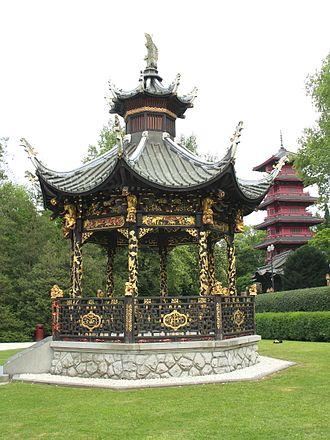 Museums of the Far East - Image: 0 Laeken Kiosque du pavillon chinois