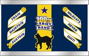 100th Army Band - 100th Army Band snare drum design