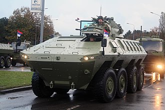 Serbian Army - Lazar 2 multi-role military vehicle