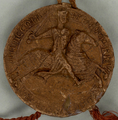 1200-08-21. Seal of count Dirk VII of Holland.png