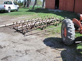 Harrow (tool) agricultural tool