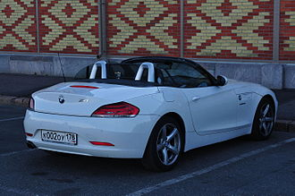 BMW Z4 (E89) - Rear view