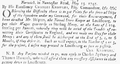1747 Knowles Louisbourg BostonEveningPost May25.png