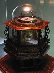 A Japanese-made perpetual clockwatch, 1851.