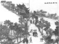 1884 road to Jingan Temple by Wu Youru.png