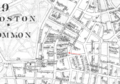 1886 Globe Theatre Boston map byBromley BPL 12259 detail 2.png