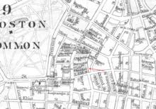 Globe theatre boston 1871 wikipedia detail of 1886 map of boston showing globe theatre malvernweather Image collections