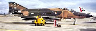18th Reconnaissance Squadron - 18th TRS RF-4C Phantom – 66-0427 at Shaw AFB, 1977