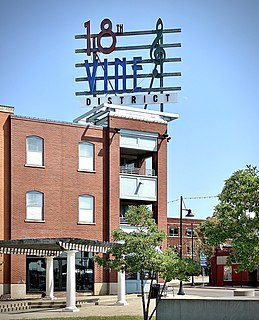 18th and Vine – Downtown East, Kansas City United States historic place