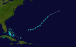 1907 Atlantic tropical storm 4 track.png