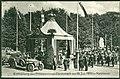 1910-07-19 Ludwig Hemmer PC Enthüllung des Prinzessinen-Denkmals am 19. Juli 1910 in Hannover. Bildseite Königinnen-Denkmal Kaiser Wilhelm Oldtimer Hohenzollernstraße Eilenriede.jpg
