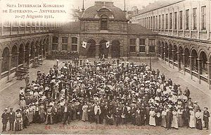 Esperanto - 7th Esperanto congress, Antwerp August 1911.