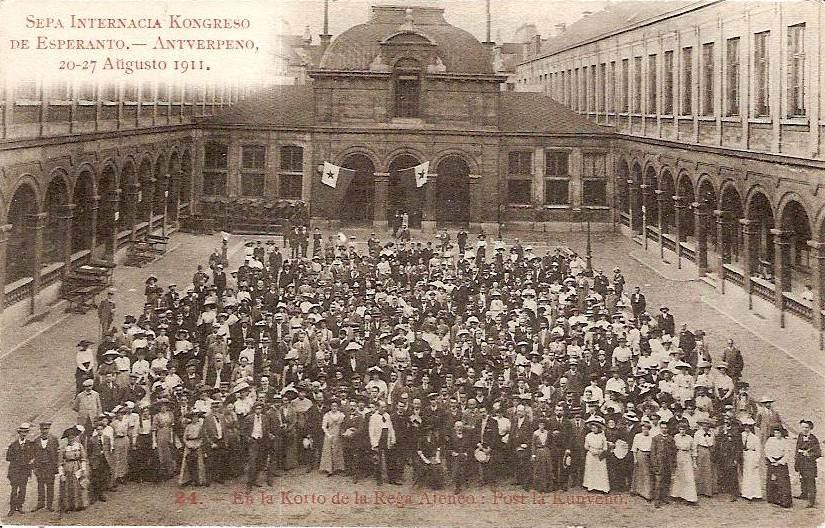 1911 Anvers Congrès Esperanto